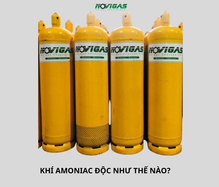 khi amoniac doc nhu the nao